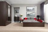 Modern Full Bedroom Set in Wenge Color (HF-EY0731B)