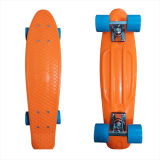 22inch PP Mini Skateboard Cruiser Complete Skateboards Banana Skateboard Orange Design -28
