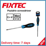 Fixtec Hand Tools 100mm CRV Pozidriv Screwdriver