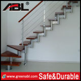 Side Mounted Stainless Steel Wirehandrail for Indoor Steps