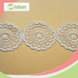 Water Soluble Patch Embroidered Lace Trimming for Women Clothing