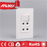 Saudi Arabia Saso Approved Wall Switch Socket Brand