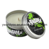 Decorative Tin Party Candles as Gift or Craft