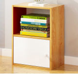 New Design Modern Bookcase with Door and Shelf