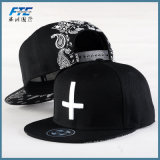 3D Embroidery Logo Custom Snapback Hat 100% Cotton Baseball Cap