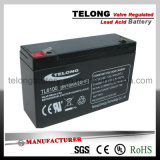 6V10ah Sealed Lead Acid Battery for Power System