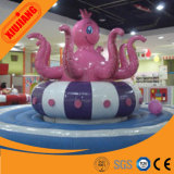 Factory Direct Sale Electric Soft Octopus for Indoor Playground