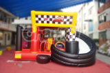 Crazy Cars Inflatable Bouncer and Slide Chb276