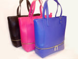 New Designs Embroidery with Ourter Zipper Womens Bags