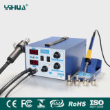 Large Power 2 in 1 Yihua 872d+ Hot Air Rework Soldering Iron Station