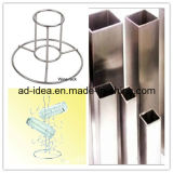 Stainless Steel Table Top Retail Store Display Stand/Display Rack/Banner