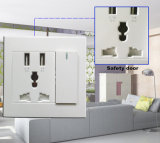 High Quality Multi-Function Wall Socket Charger Plate USB Wall Socket
