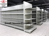 Grey Supermarket Gondola Shelf Display Rack