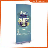 Portable 85*200cm Aluminum Flex Retractable Roll up Banner Display Stand