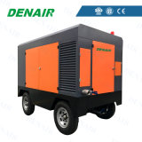 High Efficiency Long Life Diesel Portable Air Compressor