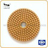 "4""/100mm Wet Diamond Floor Polishing Wheel for Stone Grinding Pad"