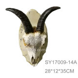 Resin 3D Wall Decor Animal Trophy Head Wall Hanging Decoration