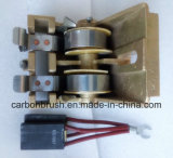 Supply Carbon brush and holder for traction motor