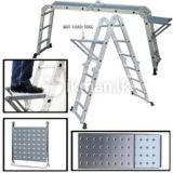 China Factory High Quality Multi-Purpose Extension Aluminum Ladder