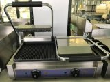 Single Comemrcial Electric Panini Press Grill with Factory Price