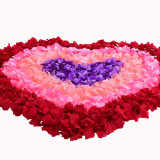 Cheap Fake Red Rose Petals for Wedding