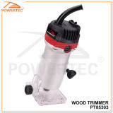 Powertec 460W 6mm Electric Wood Trimmer (PT85303)