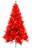 Beautiful Design Pre-Lit Red Christmas Tree