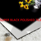 Super Black Full Body Polished Porcelain Floor Tile (SB602A)