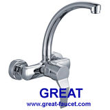 European Style Wall-Mounted Kitchen Faucet