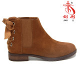 Ankle Boots Lady Shoes with Bowknot Elastic (AB601)