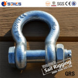 Hot Sale Galvanized Drop Forged G2130 Us Type Shackle