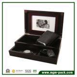 Stylish Office Wooden Storage Box