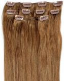 Clip in Hair Extensions with Indian Human Hair