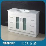 Quartz Bathroom Cabinet with Rectangular Sink 1200mm