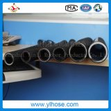 Four Wire Steel Spiraled Hydraulic Rubber Hose Pipe