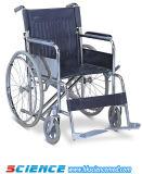 Heavy Duty Steel Wheelchair with Drop Back Handle (SC-SW12)