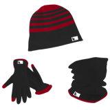 Fleece 3PCS Set, Hat, Glove, Snood, Warm Set, Winter Set