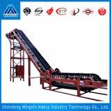 DJ Series Large Angle Belt Conveyor with High Reliability, Energy Saving and Economy