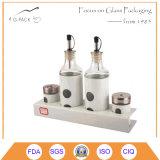 Kitchenware Glass Oil and Vinegar Bottle Cruet Dispenser