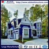 Luxury Design Light Steel Prefab House Villa Building Material Factory
