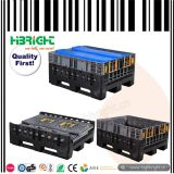 HDPE Warehouse Logistic Plastic Pallet Box Container