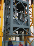 Inner Climbing Tower Crane with 4 Ton Load