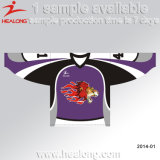 Healong OEM Design Cut and Sewing Ice Hockey Jersey