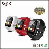 Paypal Accept Hot Selling Step Motion Meter 1.44′ TFT U8 Android 4.4 Watch Mobile Phone
