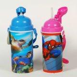 Fashional 3D Children′s Plastic Sport Drinking Bottle