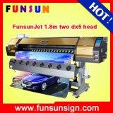 Funsunjet Fs-1802g Cheap Eco Solvent Printer (DX5 head, 1440dpi, Promotion price now)