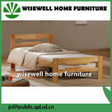 Simple Design Pine Wood Single Bed for Sale (W-B-5031)