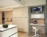 Welbom 2015 High Gloss White Customized Kitchen Cabinets