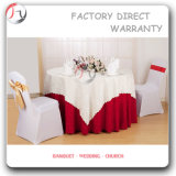 Red Round Latest Design High Class Festive Tablecloth (TC-27)