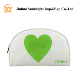 Shiny PU Half-Moon Shape Cosmetic Bag